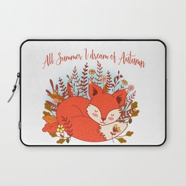 All Summer I Dream Of Autumn Laptop Sleeve
