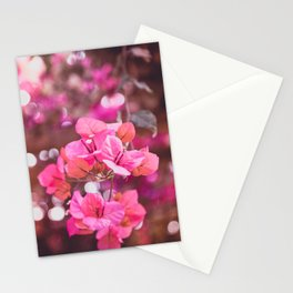Fresh & Colourful Bougainvillea Stationery Cards