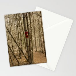 Trail Markers at Ridge Hill Stationery Cards