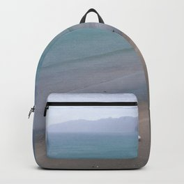 North Sea in Winter Backpack