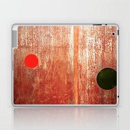 Metallic Face (Red Version) Laptop & iPad Skin