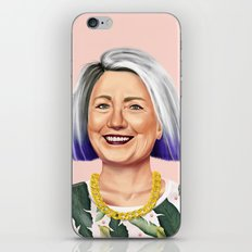 Hipstory - Hillary Clinton iPhone Skin
