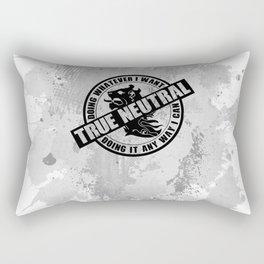 True Neutral RPG Game Alignment Rectangular Pillow