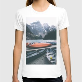 Moraine Lake Canoes T-shirt