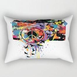Paint DSLR Rectangular Pillow