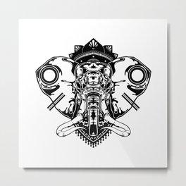Ele-phant Metal Print