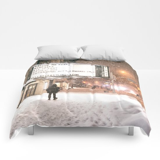 New York City Snow Comforters