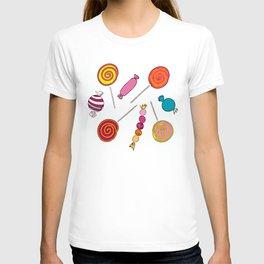 Lollipops & Candies T-shirt