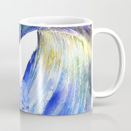 Watercolor Sunny Wave Coffee Mug