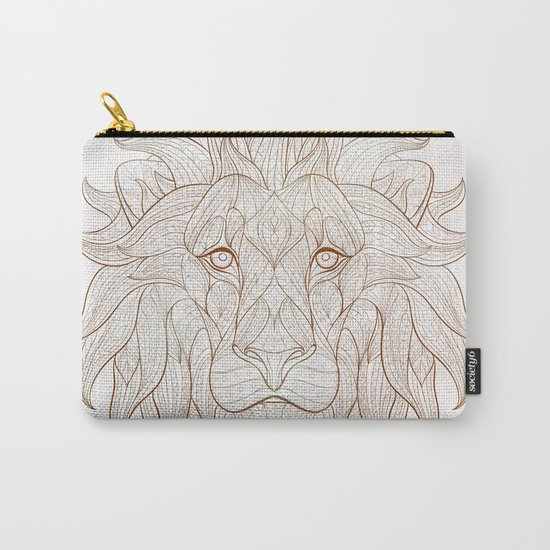 Ethnic Lion Carry-All Pouch