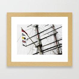Cutty Sark Framed Art Print
