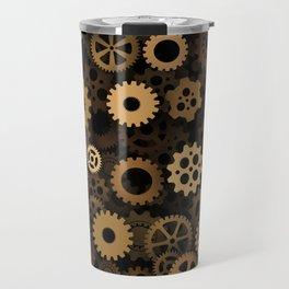 Steampunk cogwheels Travel Mug