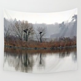 Heron Rookery Wall Tapestry