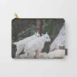 Baby Mountain Goats - Black Hills National Forest Carry-All Pouch