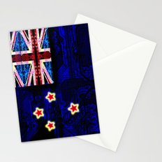 circuit board new zealand (flag) Stationery Cards