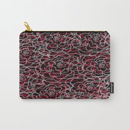 Floral pattern 20 Carry-All Pouch