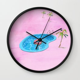 Sweet Summertime  Wall Clock