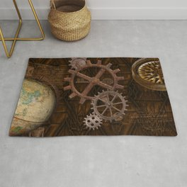 Comforts of Steampunk Rug
