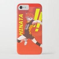 haikyuu iPhone & iPod Cases featuring Haikyuu!! Intense Hinata!! by f-premaur