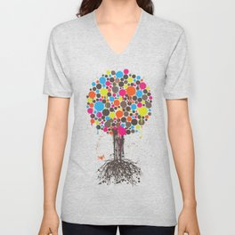 Tree of Life Classic Unisex V-Neck