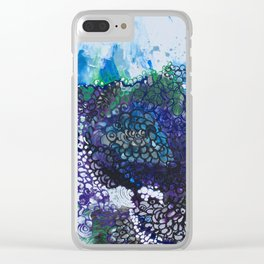 Into The Drink She Goes Clear iPhone Case