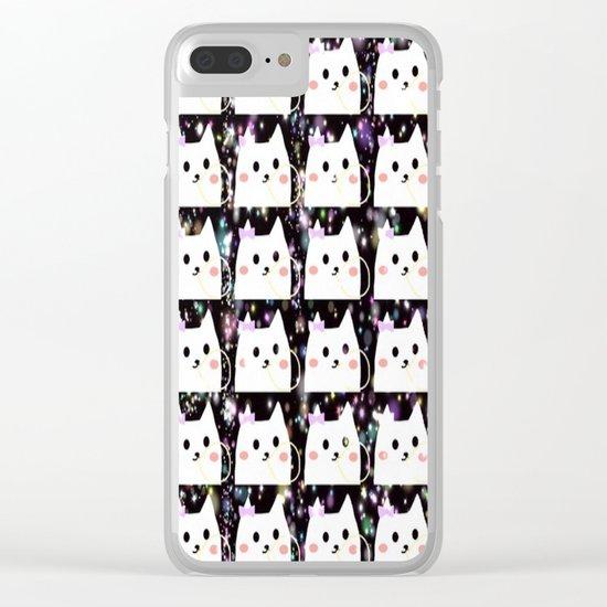 cat-42 Clear iPhone Case