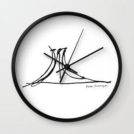 Niterói Contemporary Art Museum - Oscar Niemeyer Wall Clock