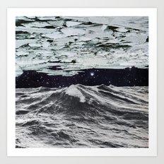 Freezing Art Print