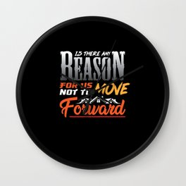 Is there a reason for us to not move forward Wall Clock