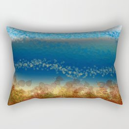Abstract Seascape 01 w Rectangular Pillow