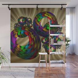 Circle colorful Wall Mural