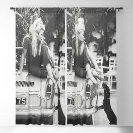 Brigitte Bardot Dog Art Print, Bridget Bardot Modern Art Print, Fashion Art Print, Brigitte Bardot Poster Print, Black & White Print vintage Blackout Curtain