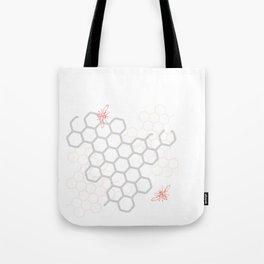 A couple o' bees Tote Bag