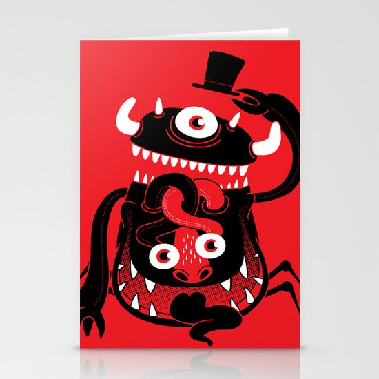 Mister Monster Stationery Cards