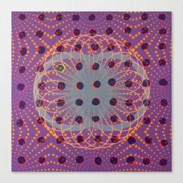 Dot - 3D graphic Canvas Print