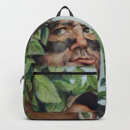 Carl Spackler - Caddyshack Bill Murray Painting Backpack
