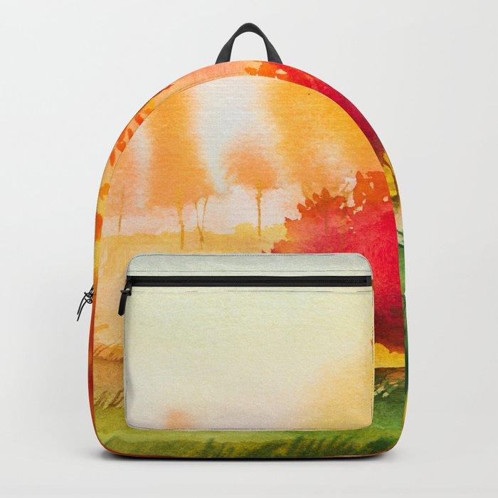 Autumn scenery #4 Backpack
