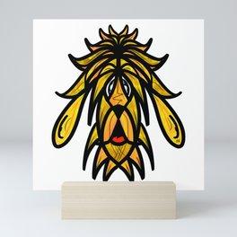 Yellow Dog Mini Art Print