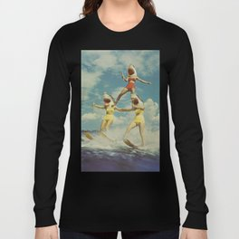 On Evil Beach - Sharks Long Sleeve T-shirt