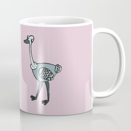Dueling Ostriches Coffee Mug