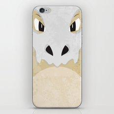 Minimalist Cubone iPhone & iPod Skin
