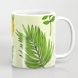 Pineapple Upside Down Party Pattern Coffee Mug