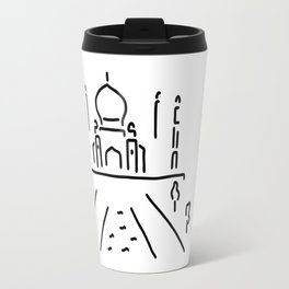taj mahal India agra Travel Mug
