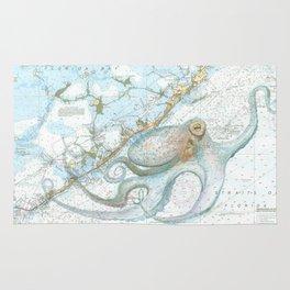 Key Largo Octopus Rug