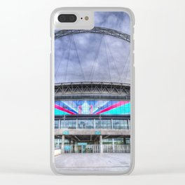 Wembley Stadium London Clear iPhone Case