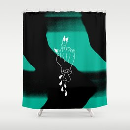 Good Luck Shower Curtain