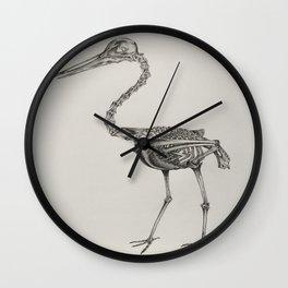 Orignal CranePencil Drawing Wall Clock
