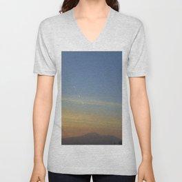 Sunset, Amalphi coast, Italy Unisex V-Neck