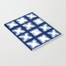 Indigo Shibori Granny Squares Notebook