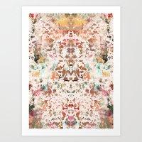 minerals Art Prints featuring Mystic Minerals 2 by Caroline Sansone